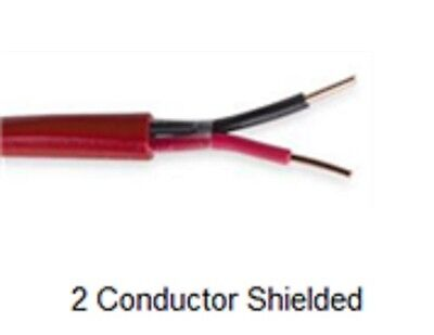 16/2 2 CONDUCTOR SOLID SHIELDED FIRE ALARM FPLR CABLE 1,000 feet