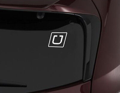 """5"""" UBER Vinyl DECAL car window sticker Sign windshield Rideshare logo for sale  Shipping to Canada"""