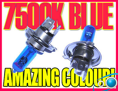 H4 7500K Xenon Headlight Bulbs Headlamp Replacement Part Mazda Demio 98-05 Mpv