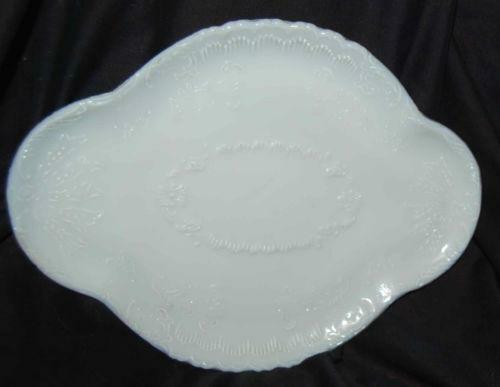 Milk Glass Dresser Tray Ebay