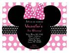 Personalized Minnie Mouse Invitations