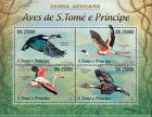 Birds Sao Tomean Stamps