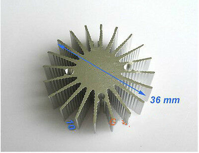 10pcs 1w Watt Led Aluminium Heatsink Round