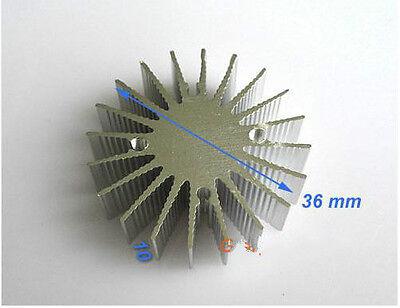 10pcs 1w Watt Led Aluminium Heatsink Round