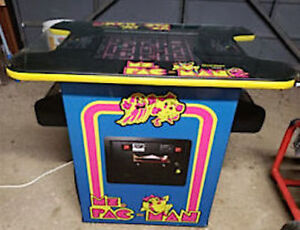 Ms Pacman 60 in 1 Cocktail Arcade Excellent Condition MUST SEE!