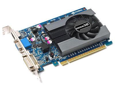 4096 MB nVidia GeForce GT730 PC Gamer Grafikkarte HDMI DVI VGA PCI-E inno3D 4 GB