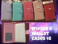 iPhone 5s wallet cases $8 each or two for $15