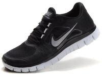 Nike Free 5.0 V3 Womens Running Shoes Black Silver