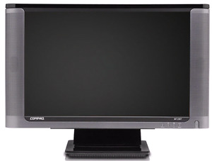 Compaq 19inch monitor with speakers