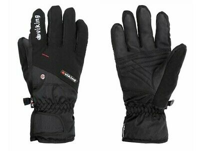 Herren Ski-handschuh (NEU Viking Herren Ski-Handschuhe Winterhandschuhe schwarz)