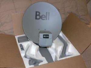 BELL SATELLITE DISH  (  NEW )