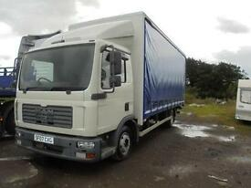 Man 7.5 Ton day cab curtain-sider