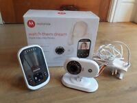 Motorola MBP25 Digital Video Baby Monitor