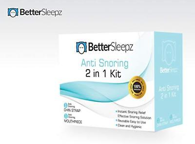 Anti Snoring Devices - Better Sleepz Anti Snoring 2 in 1 Kit - Stop Snoring