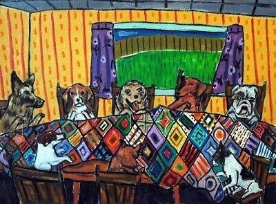 dachshund beagle jack russell german shepherd boston terrier bulldog quilting (German Shepherd Beagle)