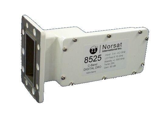 Norsat 8525 C-Band Single Band DRO LNB (3.4 - 4.2GHZ)