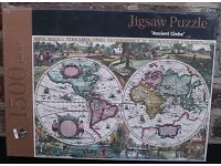 Jigsaw Puzzle. Games. 1500 Pieces. New