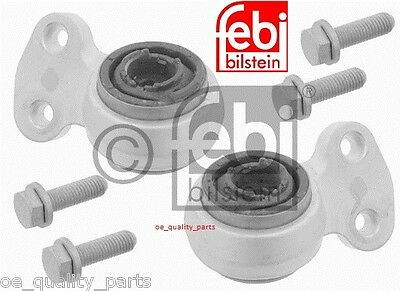 BMW 3 SERIES E46 2X FRONT CONTROL ARM REAR BUSH BUSHES FITTINGS FEBI BILSTEIN