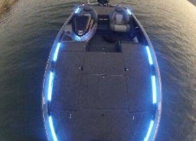 "6-19"" Pcs White LED Boat Light Deck Waterproof 12v Bow Trailer Fishing Flex"