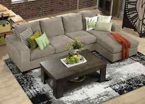 2 Piece Sectional sofa - Only 5 months old! Peterborough Peterborough Area image 4