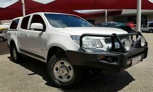 2013 Holden Colorado RG TURBO LX Olympic White Manual Dual Cab Mackay Mackay City Preview