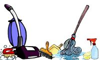 House cleaner as part time job * , Available
