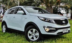 2014 Kia Sportage White Manual Wagon Hendon Charles Sturt Area Preview