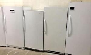 STAND UP FREEZERS SALE!- 1 YEAR WARRANTY-- 16665 111 AVE