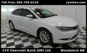 2015 Chrysler 200 C - Leather, Sunroof & Rear Camera