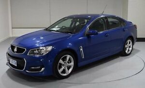 2015 Holden Commodore VF MY15 SV6 Storm Blue 6 Speed Sports Automatic Sedan Kings Meadows Launceston Area Preview