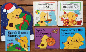 SPOT board books by Eric Hill 6 for $10