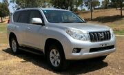 2012 Toyota Landcruiser Prado KDJ150R 11 Upgrade GXL (4x4) Silver Pearl 5 Speed Sequential Auto Oakey Toowoomba Surrounds Preview