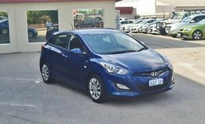 2013 Hyundai i30 GD2 Active Blue 6 Speed Sports Automatic Hatchback Bayswater Bayswater Area Preview
