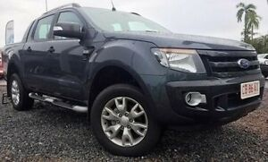 2015 Ford Ranger PX Wildtrak Double Cab Grey 6 Speed Sports Automatic Utility Berrimah Darwin City Preview
