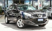 2013 Nissan Dualis J107 Series 4 MY13 +2 Hatch X-tronic 2WD ST Black 6 Speed Constant Variable Myaree Melville Area Preview