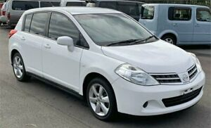 2012 Nissan Tiida C11 Series 4 ST White 4 Speed Automatic Hatchback Slacks Creek Logan Area Preview