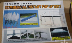 10 Ft x 20 Ft Commercial Pop Up T ***Brand New color Blue***$400