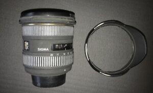 Sigma 10-20mm F/4-5.6 EX DC HSM Lens For Nikon Lens