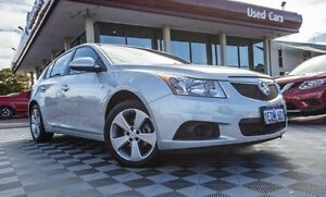2012 Holden Cruze JH Series II MY12 Equipe Silver 5 Speed Manual Hatchback Alfred Cove Melville Area Preview