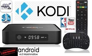 FULLY PROGRAM ANDROID TV BOX $84.99 LATEST ANDROID 6.0+QUAD CORE