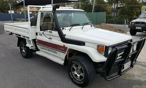 1991 Toyota Landcruiser HZJ75RP (4x4) 5 Speed Manual 4x4 Cab Chassis Burleigh Heads Gold Coast South Preview
