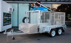 NEW CUSTOM BUILT GALVANISED TANDEM BOX TRAILERS WORKMATE TRAILERS Rockingham Rockingham Area Preview