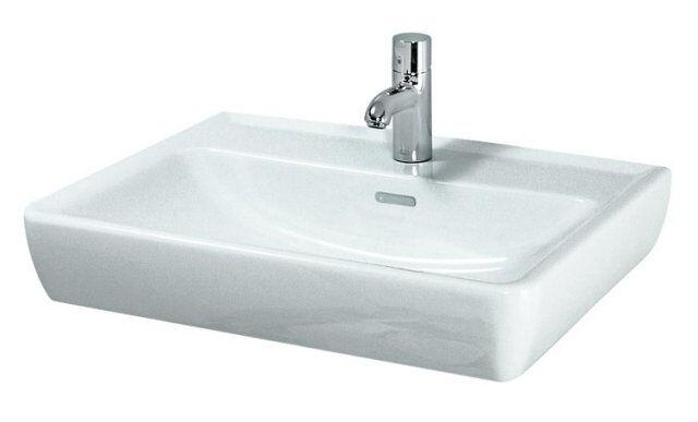 Laufen Pro A Waschtisch Waschbecken Handwaschbecken 60 x 48cm weiss mit Überlauf