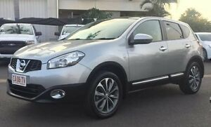 2011 Nissan Dualis J10 Series II MY2010 Ti Hatch X-tronic Silver 6 Speed Constant Variable Hatchback Berrimah Darwin City Preview