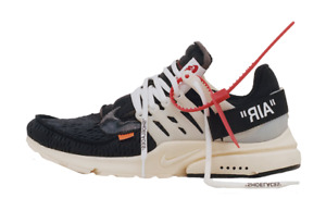"Nike Off-White ""The Ten"" Air Presto Size 6"