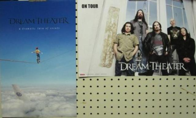 DREAM THEATER 2011 ...TURN OF EVENTS 2 SIDED PROMO POSTER Flawless NEW old stock