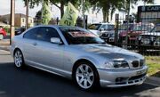 2002 BMW 325CI E46 Silver 5 Speed Auto Steptronic Coupe Hillcrest Port Adelaide Area Preview