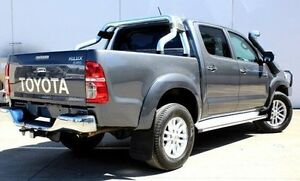 2013 Toyota Hilux KUN26R MY12 SR5 Double Cab Grey 4 Speed Automatic Utility Berwick Casey Area Preview