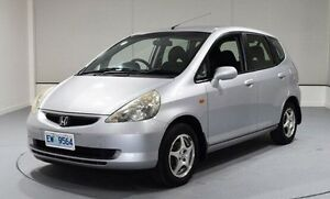 2004 Honda Jazz GD VTi Silver 7 Speed Constant Variable Hatchback Invermay Launceston Area Preview
