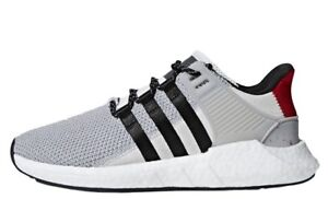 NEW EQT BOOST GREY RED